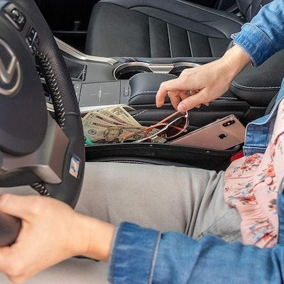 Lusso Gear Car Seat Gap Organizer