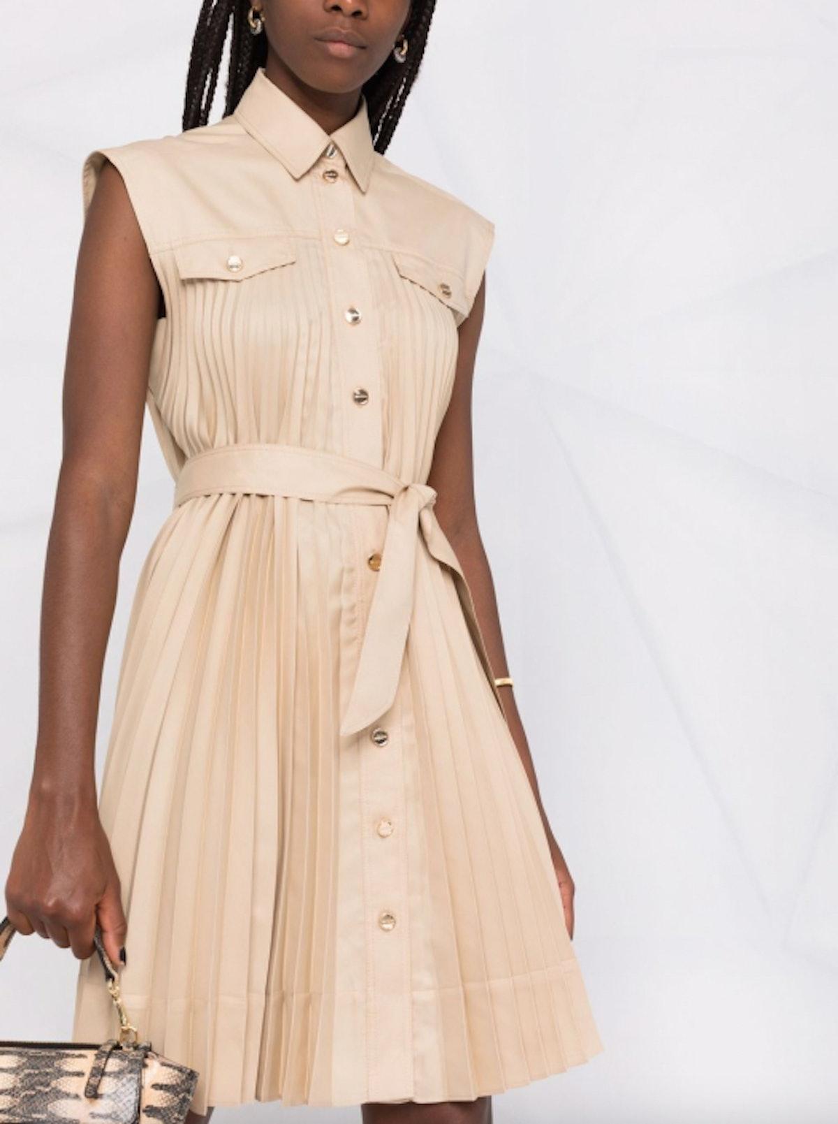 Alice Pleated Dress