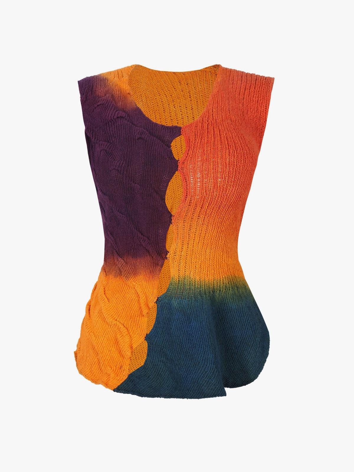 Bloke Handmade Multicolour Knit Vest
