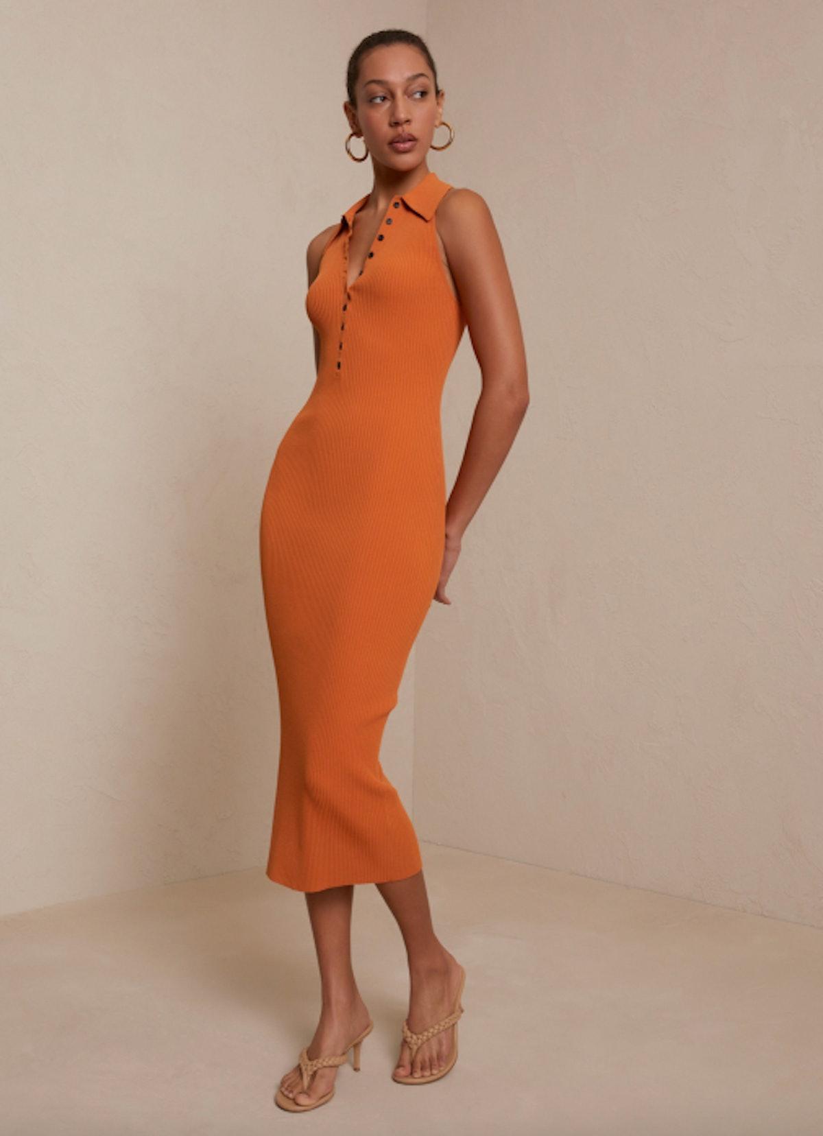 Asher Rib Knit Dress