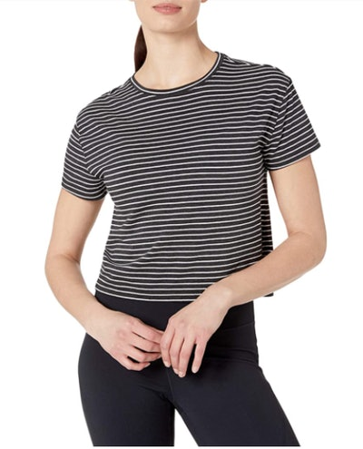 Core 10 Pima Cotton Cropped T-Shirt