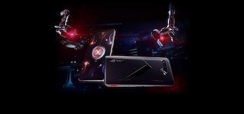 ROG Phone 5 gaming smartphone with 144hz display