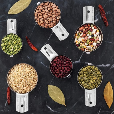 Hudson Essentials Stainless Steel Measuring Cups (Set of 6)