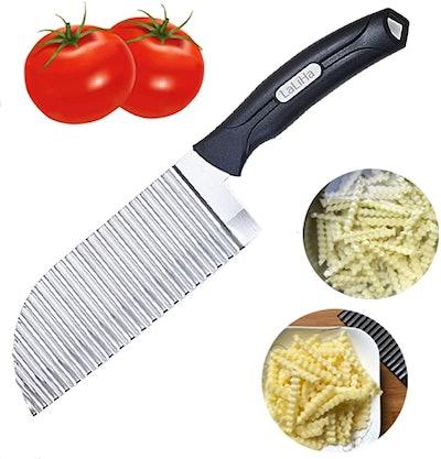 LaLiHa Crinkle Cutter Garnishing Knife