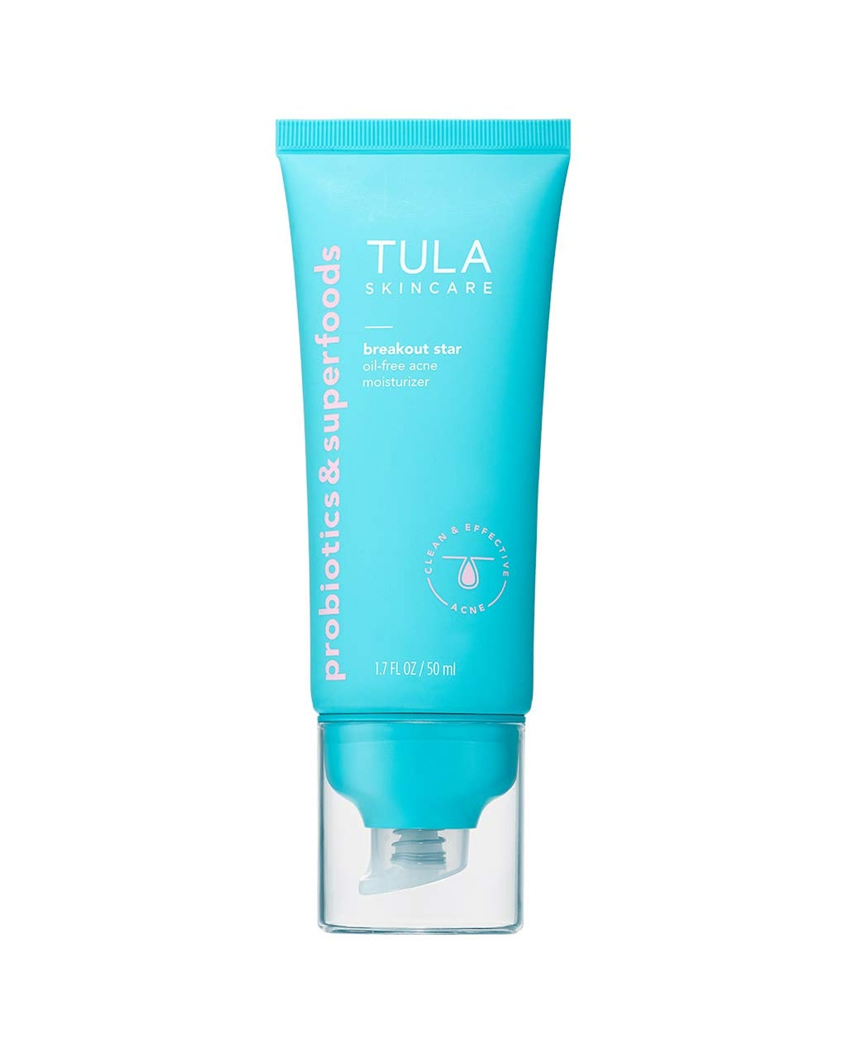 TULA Skincare Breakout Star Acne Moisturizer