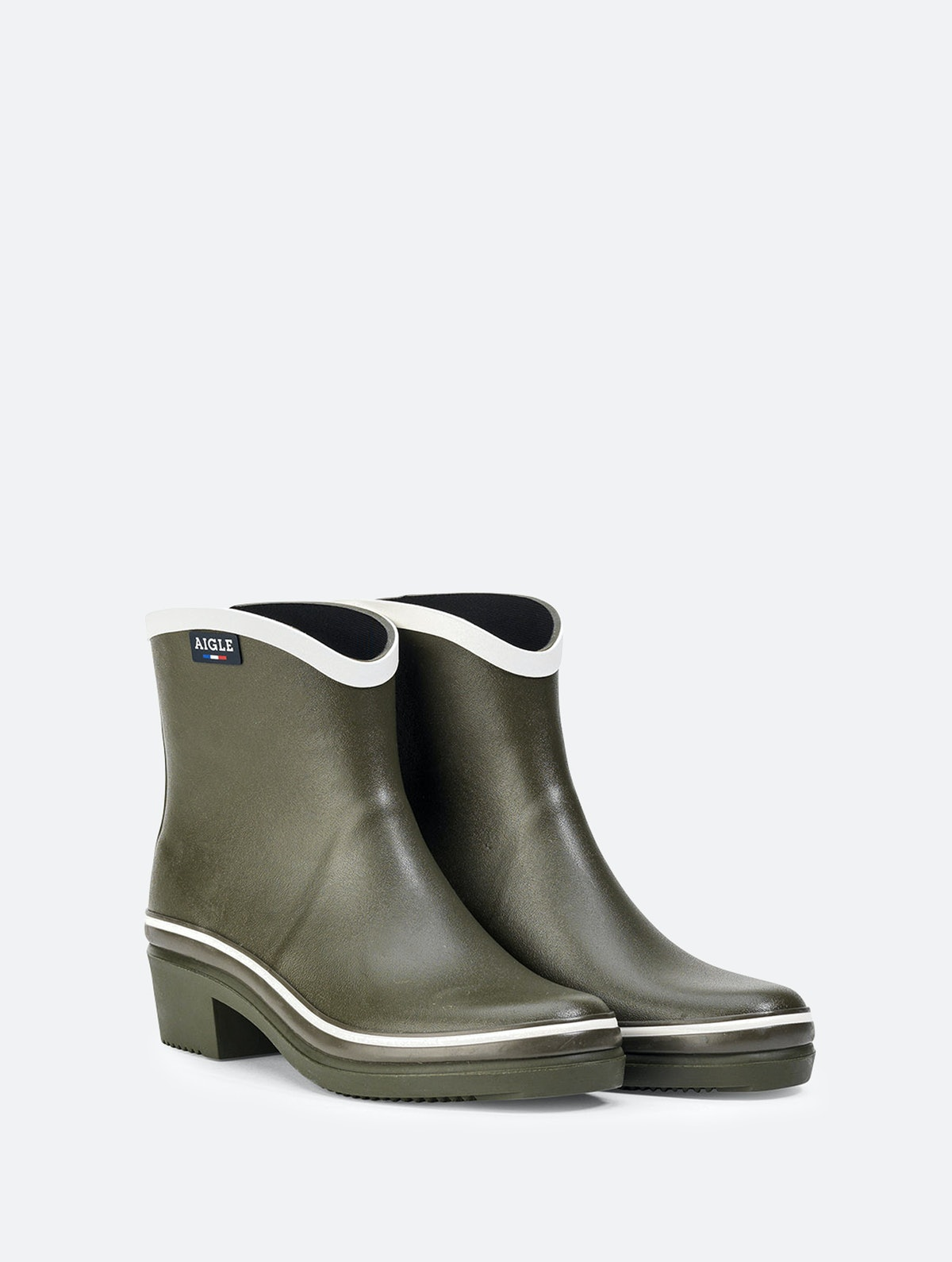Aigle Women's Rubber Ankle Boots