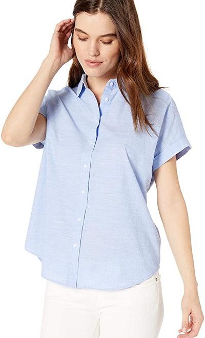 Daily Ritual Oversized Short Sleeve Shirt