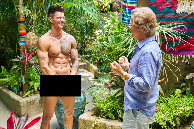 Kenny's nude moment made un an unforgettable impression on 'Bachelor in Paradise.' Photo via ABC