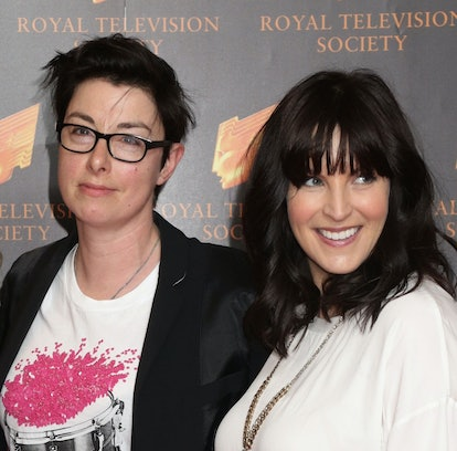 Tracy-Ann Oberman, Sue Perkins and Anna Richardson attending the Royal Television Society Programme ...