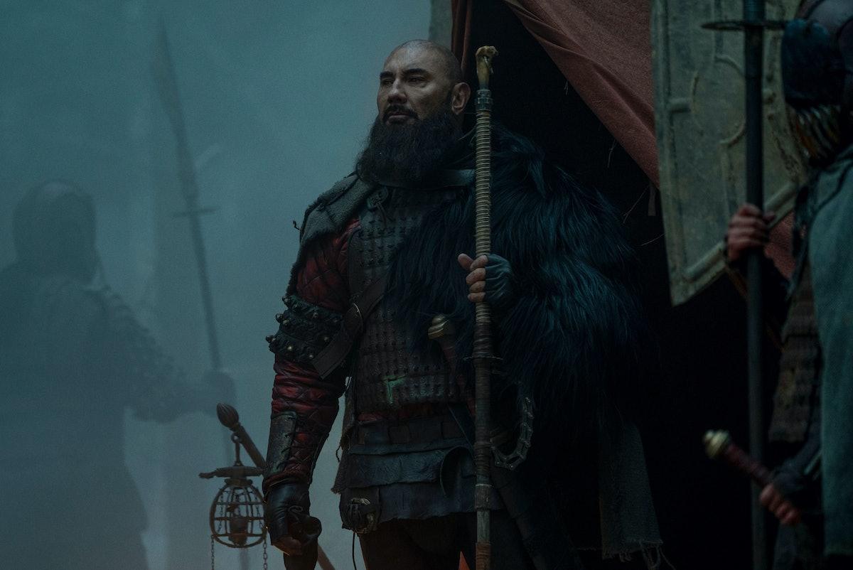 David Bautista as General Edo in 'See' Season 2