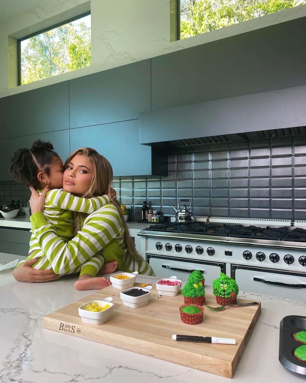 celebrity kitchens kylie jenner