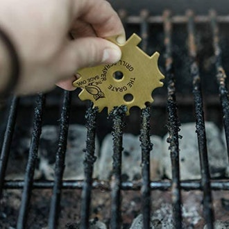 The Sage Owl Brass Barbeque Grill Cleaner