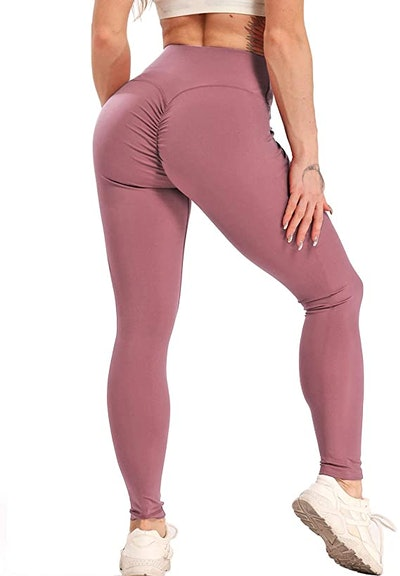 FITTOO Ruched Yoga Pants