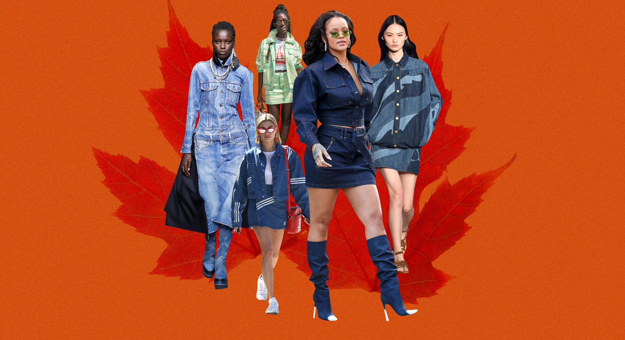 The Canadian tuxedo — that polarizing trend from the 2000s —is back in a major way, but with one so...