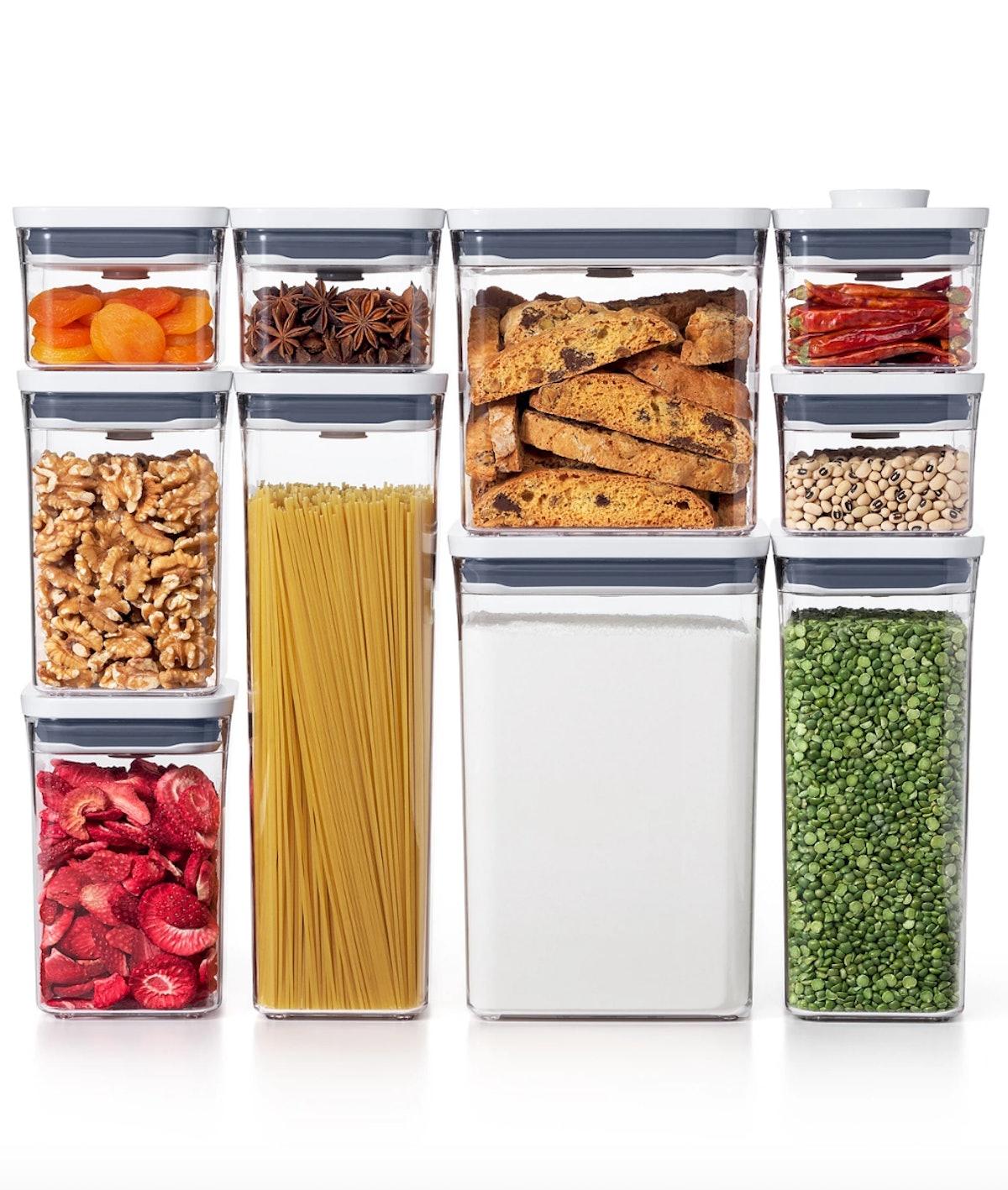 Pop 10-Pc. Food Storage Container Set
