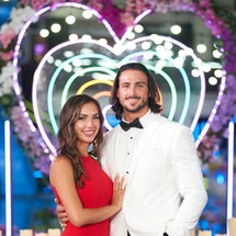 'Love Island US' contestants Jeremy and Bailey during the finale.