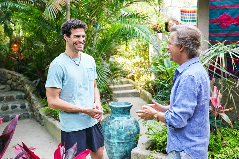 'Bachelor In Paradise' cast member, Joe Amabile, and new guest host, David Spade