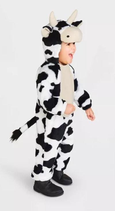 Toddler Cow Halloween Costume Jumpsuit
