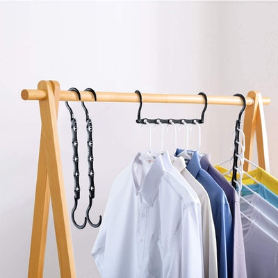 HOUSE DAY Space Saving Clothes Hangers (10 Pack)