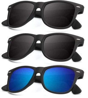 KALIYADI UV-Blocking Polarized Sunglasses (3-Pack)
