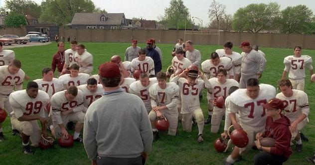 Jon Favreau stars in 'Rudy.'