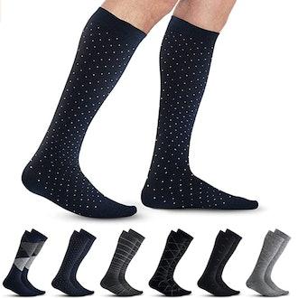 Pembrook Men's Compression Socks (6-Pack)