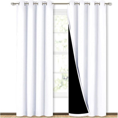NICETOWN 100% Blackout Window Curtain Panels