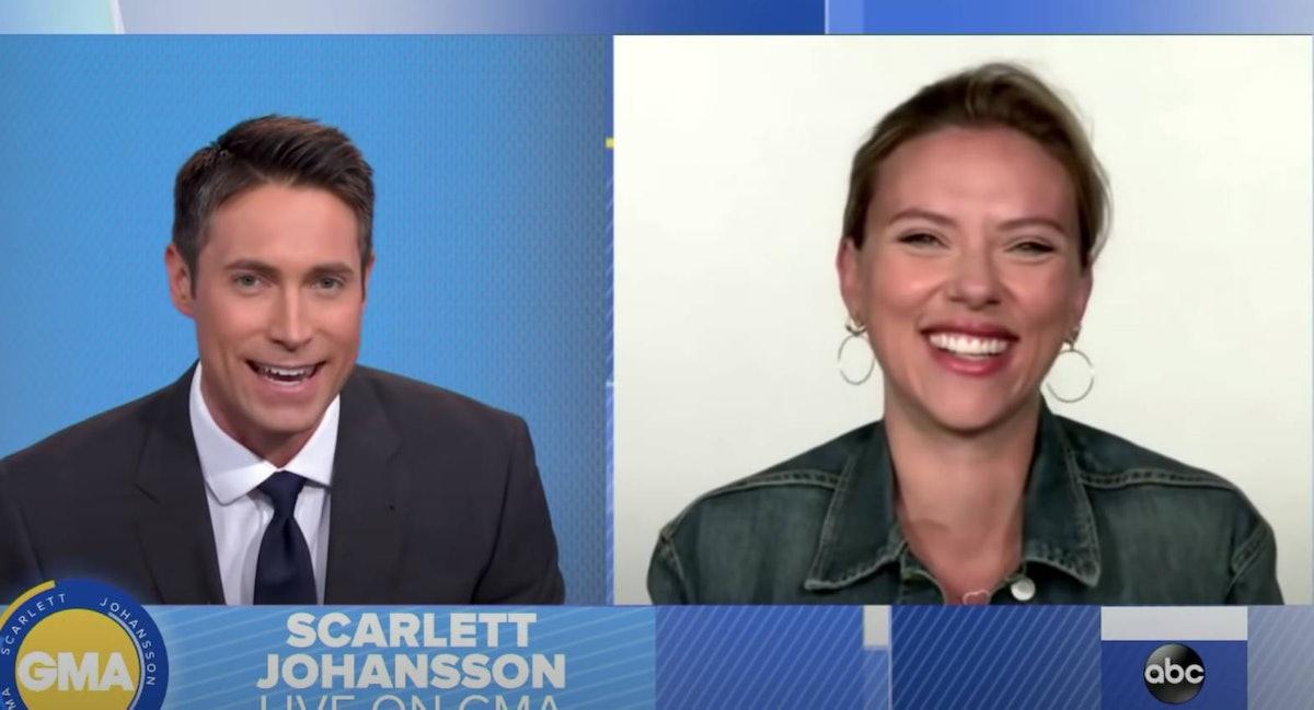 Scarlett Johansson on GMA