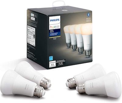 Philips Hue LED Smart Light Bulb (4-Pack)