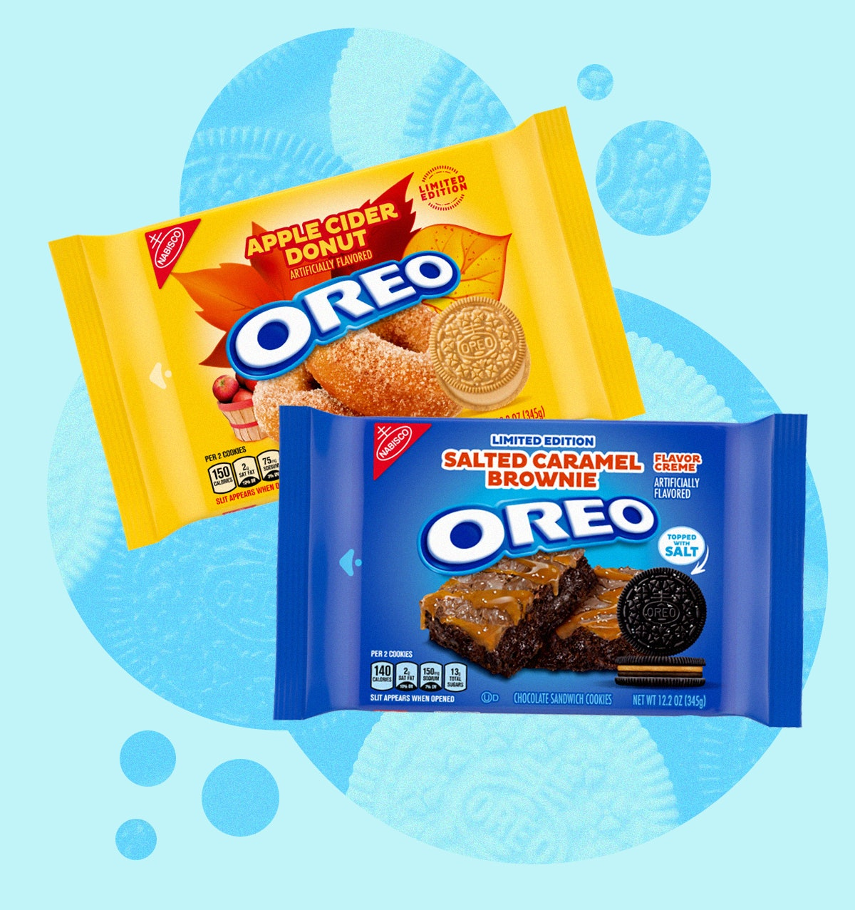 Here's what Apple Cider Donut and Salted Caramel Brownie Oreos taste like.