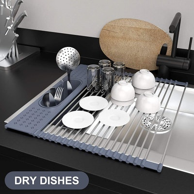 Fixparts Roll Up Dish Drying Rack
