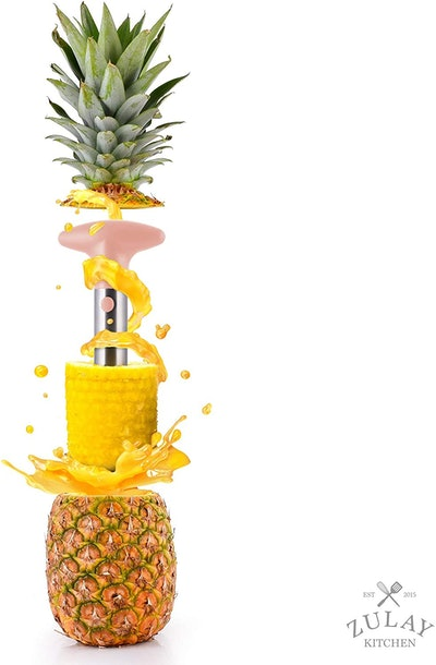Zulay Kitchen Pineapple Corer and Slicer Tool