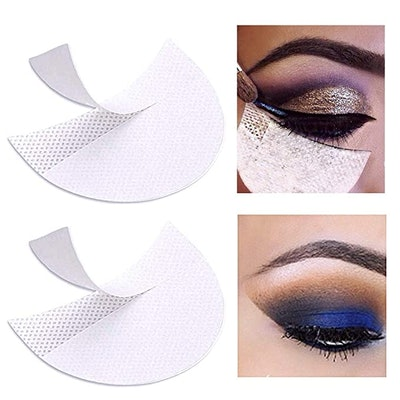 Pengxiaome Eyeshadow Pads Stencils (100 Pieces)