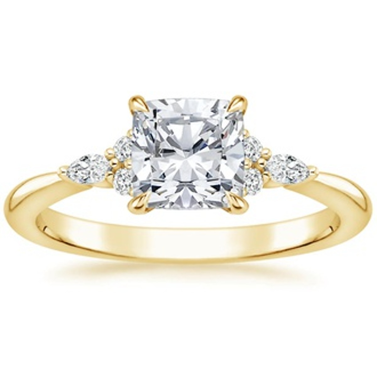 Nadia Halo Diamond Engagement Ring from Brilliant Earth.