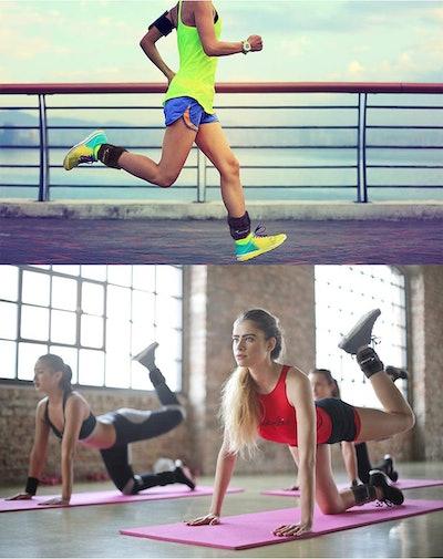Sportneer Adjustable Ankle Weights  (5-Pack)