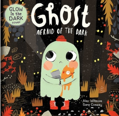 'Ghost Afraid Of The Dark' by Sara Conway, illustrated by Alex Willmore