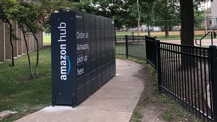 Amazon removed two of its package lockers from Chicago parks following criticism.