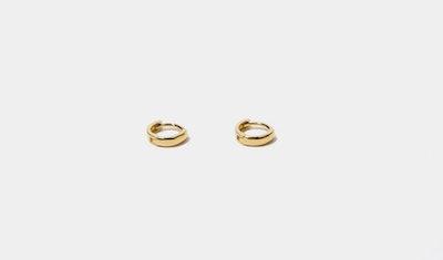 Cam Gold Minimalist Huggies
