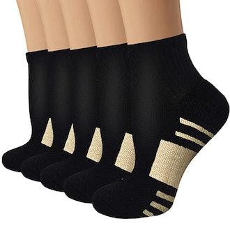 YeuG Copper Compression Socks (5-Pack)
