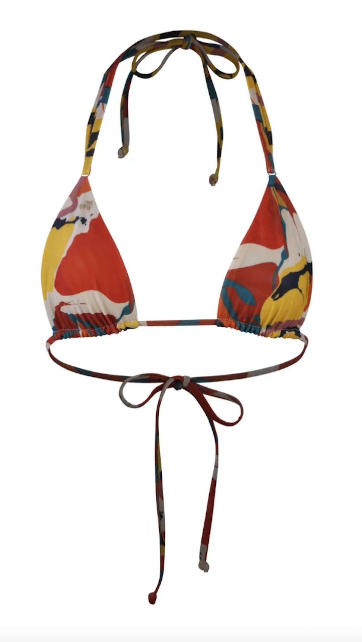 Gonza triangle bikini top in caracas.
