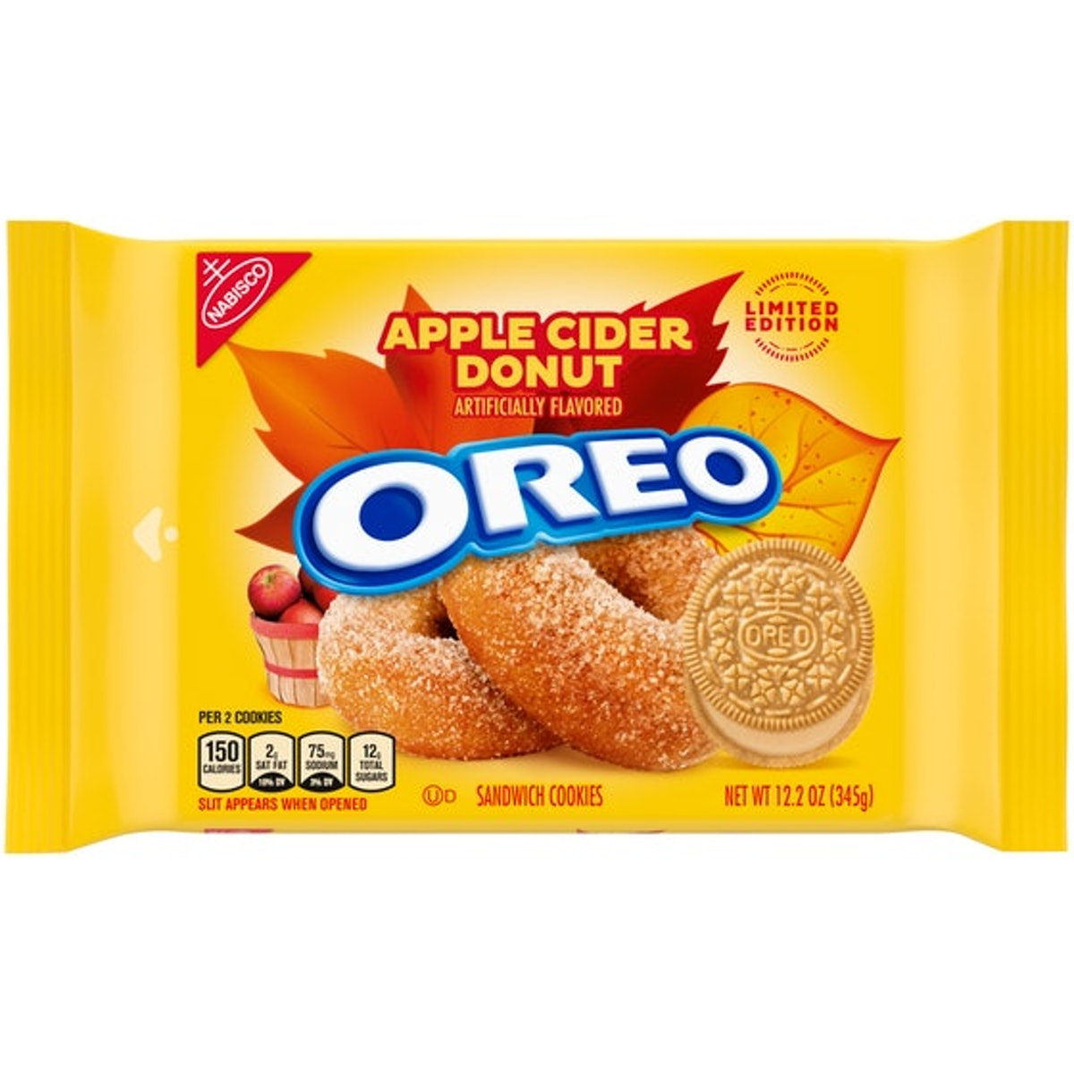 Here's what the Apple Cider Donut and Salted Caramel Brownie Oreo flavors taste like.