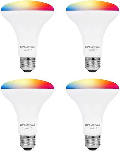 SYLVANIA Smart WiFi LED Light Bulb (4-Pack)
