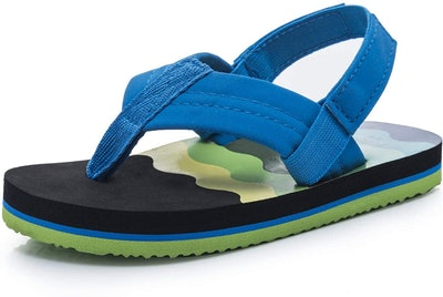 KRABOR Boys and Girls Flip Flop Sandals With Backstrap