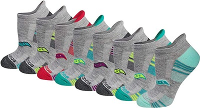 Saucony Performance Athletic Socks (8-Pack)