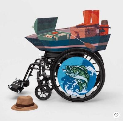 Fishing Boat Wheelchair Costume