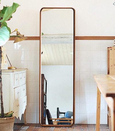 Tiny Times Wood Full-Length Mirror