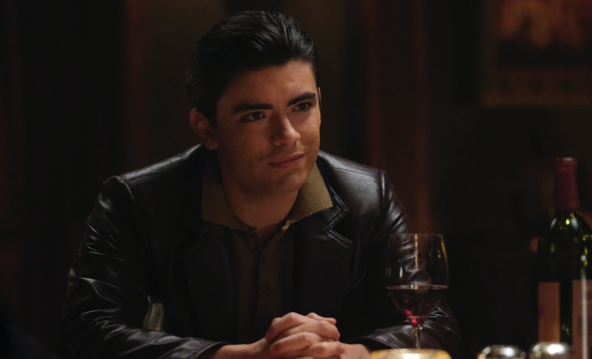 Michael Consuelos plays the younger version of his dad's character Hiram Lodge on 'Riverdale.'