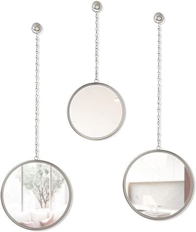 Umbra Dima Decorative Hanging Mirrors for Wall (3-Piece)