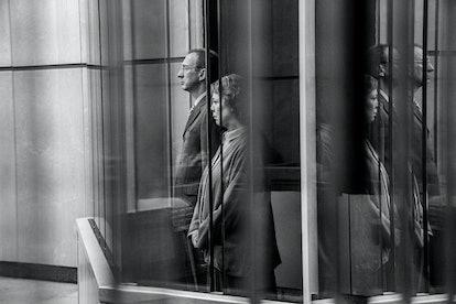 Olivia Colman & David Thewlis in 'Landscapers'.
