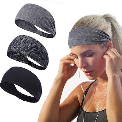 Joyfree Workout Headbands (3-Pack)